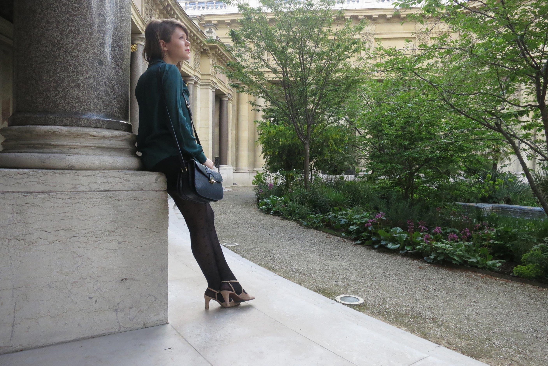 Secret of le petit palais paris in person for Cafe le jardin du petit palais