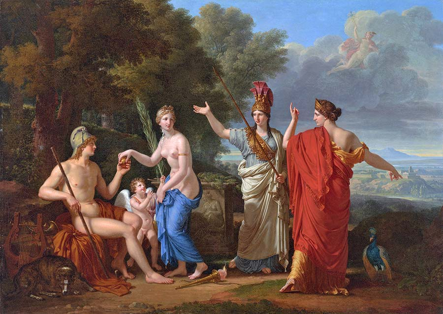 francois-xavier_fabre_-_the_judgment_of_paris-1808-prep