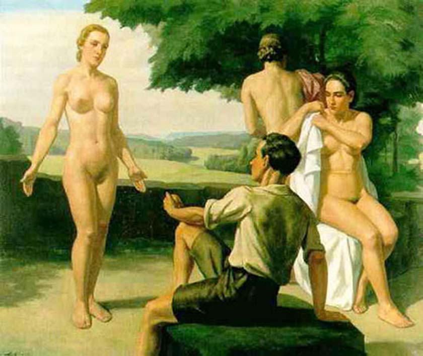 ivo-saliger-the-judgement-of-paris-1939-prep