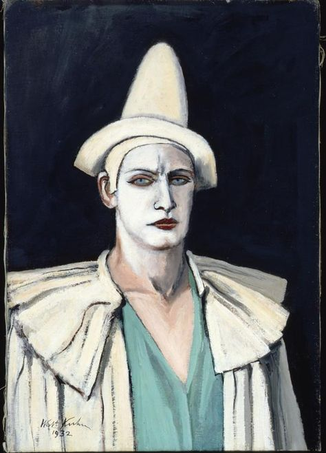 portrait-of-the-artist-as-a-clown-by-walt-kuhn-1932