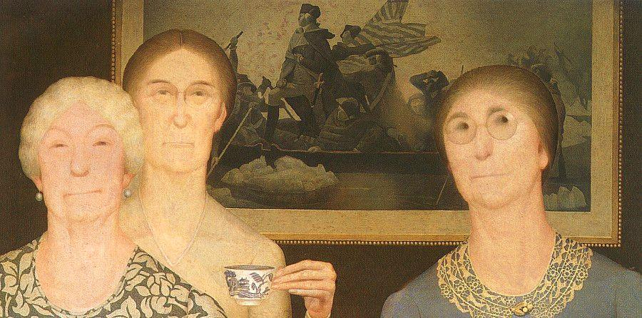 grant-wood-daughters-of-the-revolution-1932